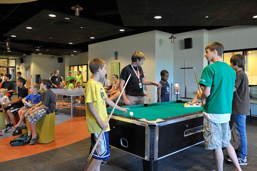 Kroc Center Game Room