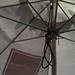 Umbrella at Kawha Cafe, Downtown St Petersburg