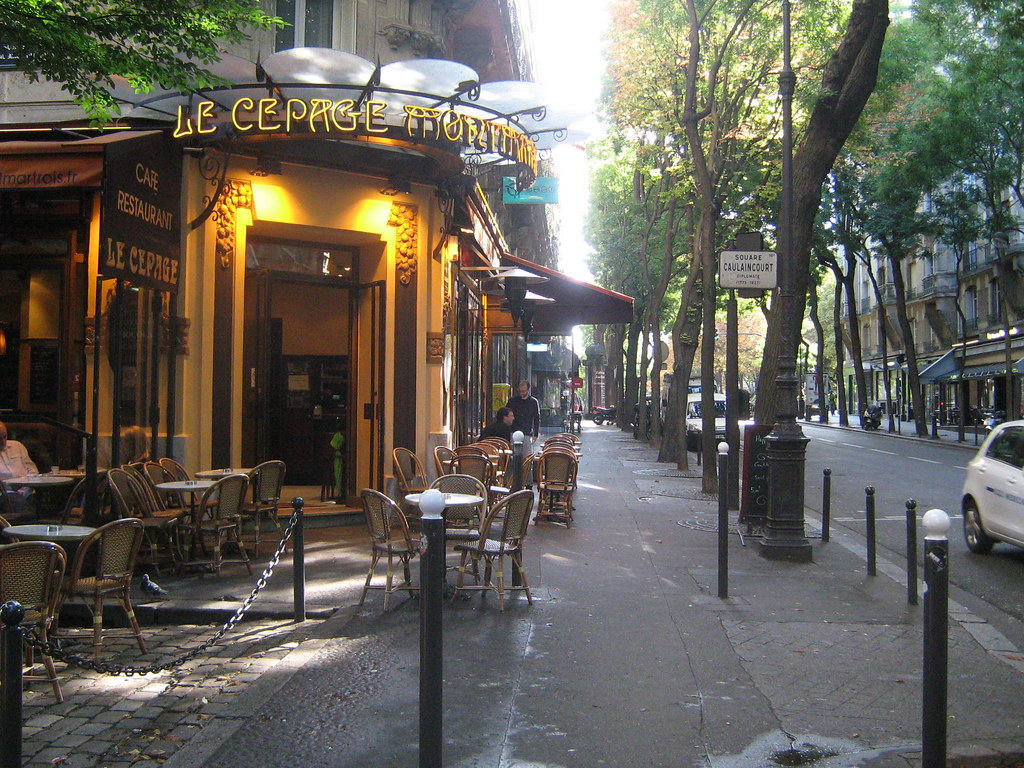 Paris Rue Caulaincourt Ekenitr Flickr