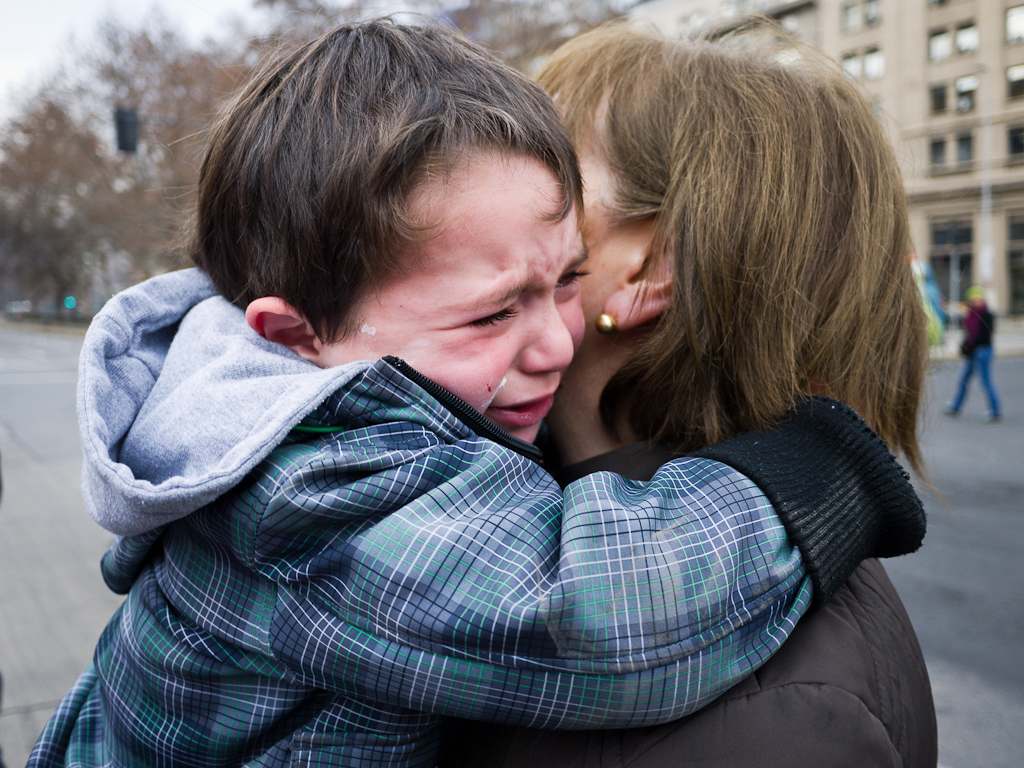 CL Society 118: Boy crying