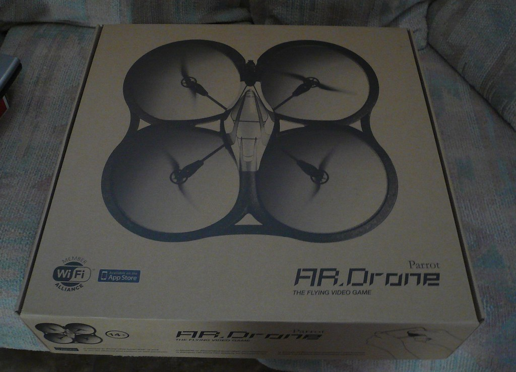 Parrot AR Drone Box