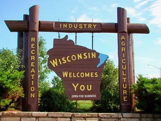 WI, Beloit-I90 Wisconsin Welcome Sign | by Alan C of Marion,IN