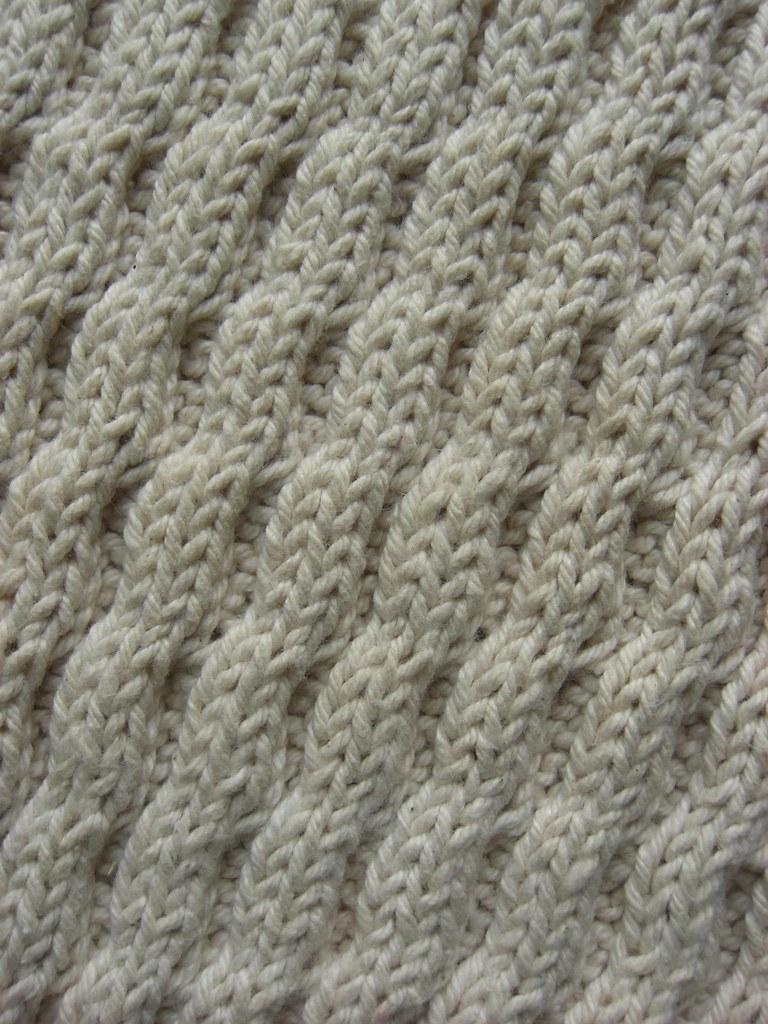 Diagonal Wave | A Treasury of Knitting Patterns Barbara G Wa… | Flickr