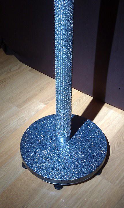leona lewis rebel swarovski crystal custom mic stand flickr. Black Bedroom Furniture Sets. Home Design Ideas