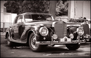 Mercedes 300 Sc Einspritzmotor Coupe (1955) | by Mehow911