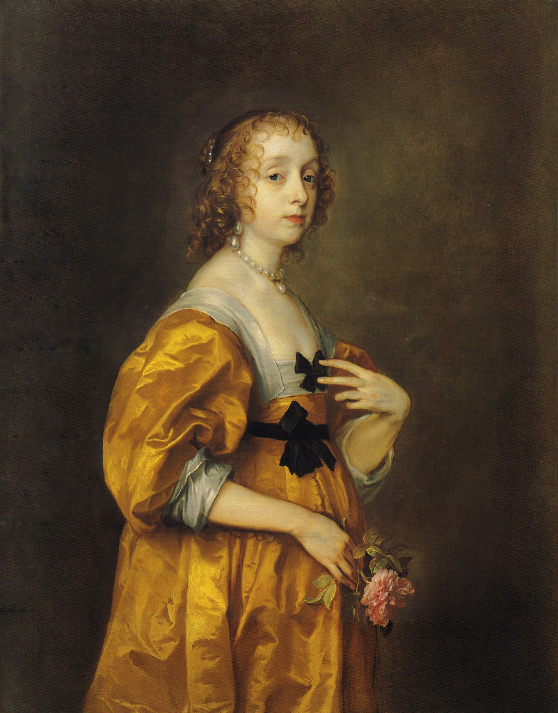 anthony van dyck  u0026quot mary villier  lady herbert of shurland