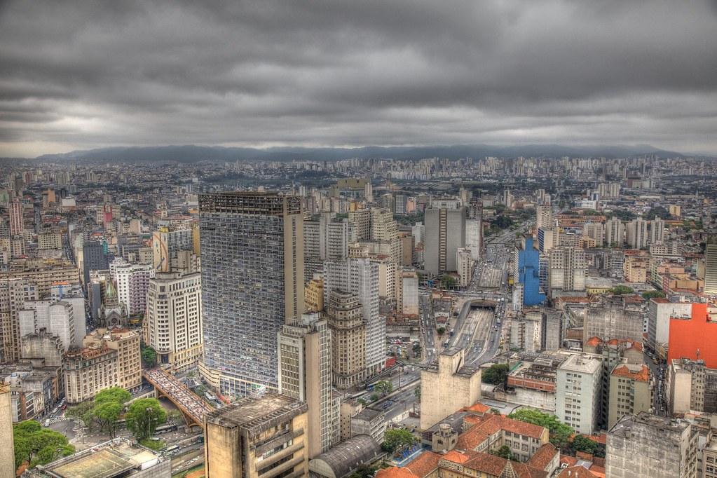 Sao Paulo skyline HDR | Sao Paulo HDR iBook | www.dec.am