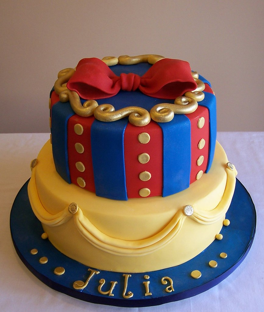 Snow Themed Birthday Cakes
