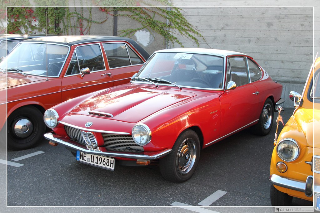 1967 1968 Bmw 1600 Gt 04 Glas Were Known For Small