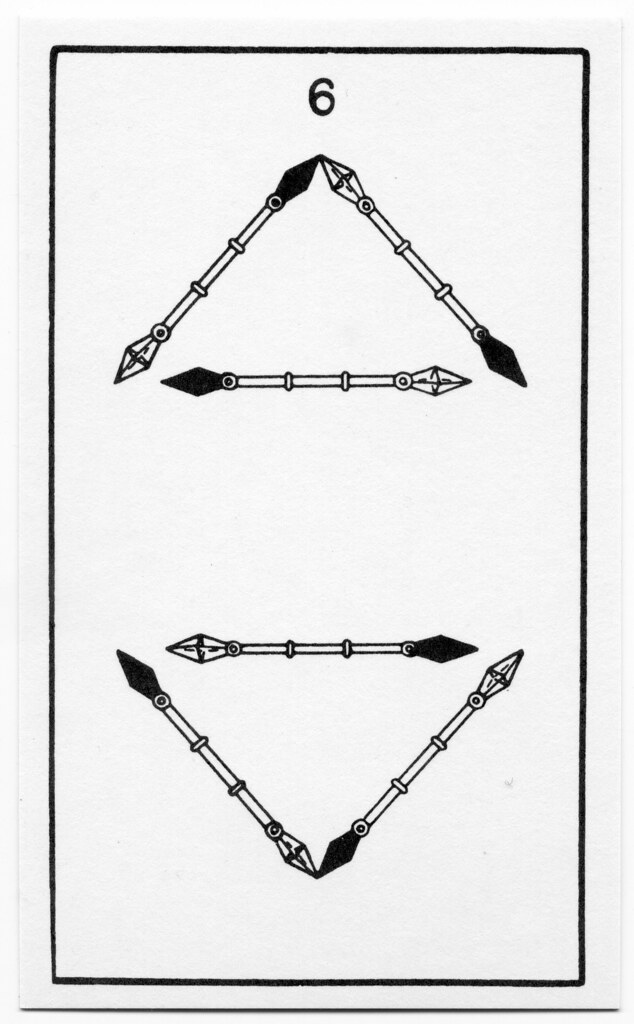 Bota Key 1 Magician: BOTA Minor Arcana - Wands 06