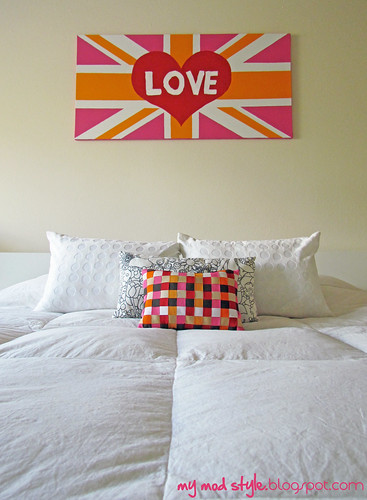 My Union Jack Painting | by Jessie {Creating Happy}