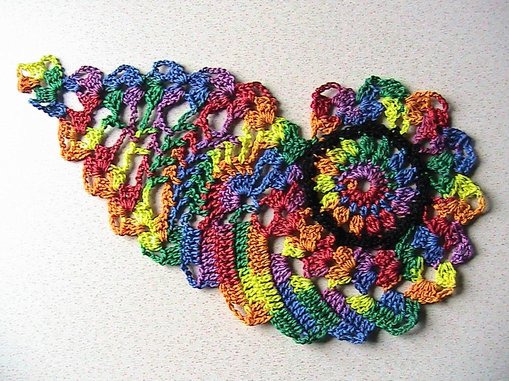 Paisley Rainbow Crochet Thread 20 With Free Shipping Flickr