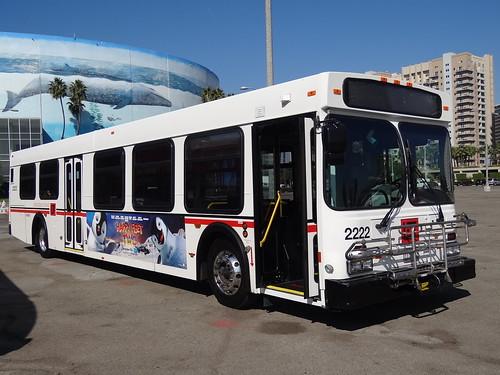 Long Beach Transit 2222 Long Beach Arena Parking Lot 2012