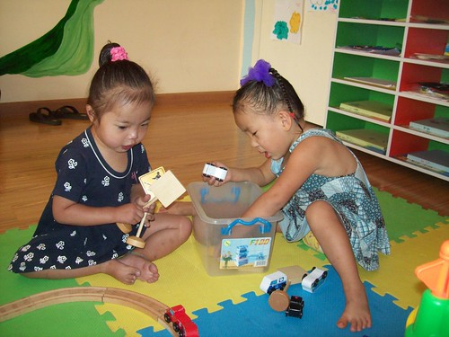 Fahlin and Naomi in Preschool | by ShowHope
