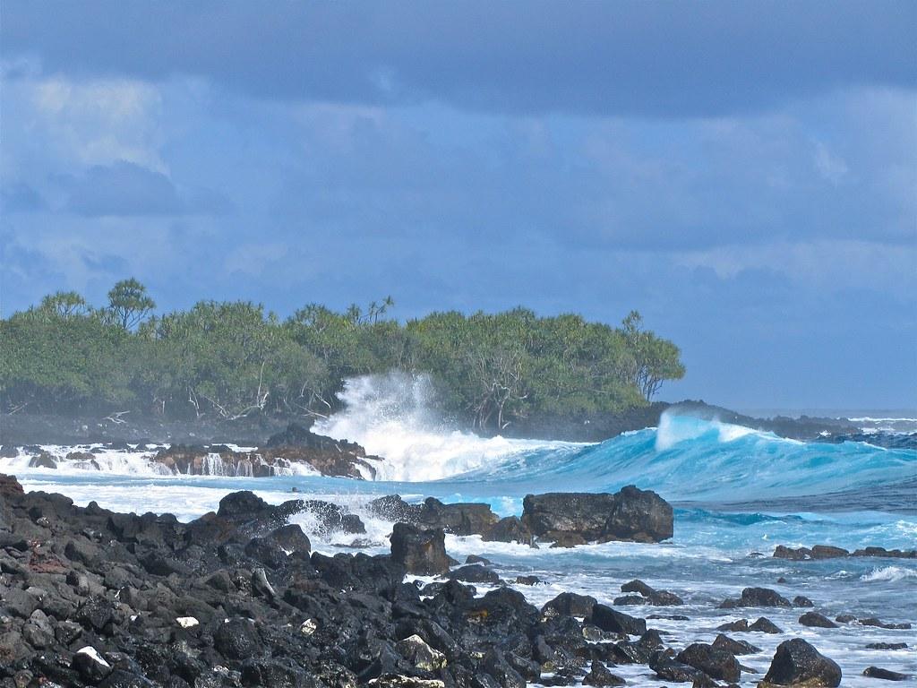 Beach  Big Island Hawaii