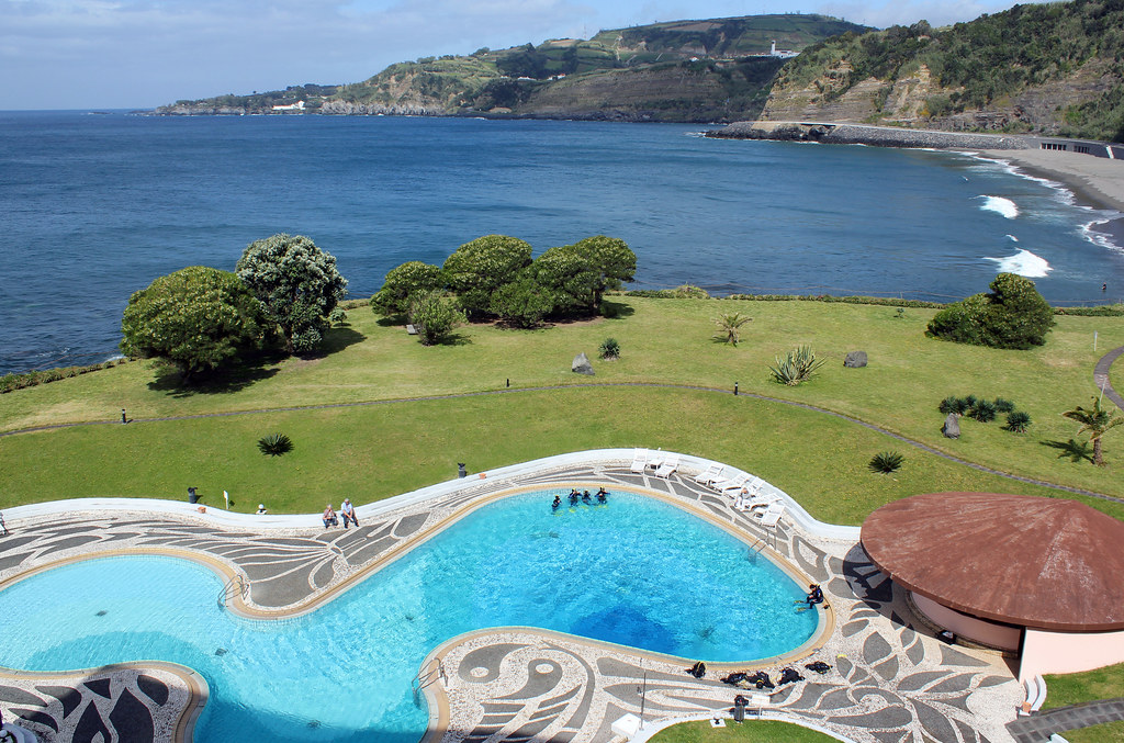View From One Of The Rooms In Hotel Bahia Palace Vila Fra
