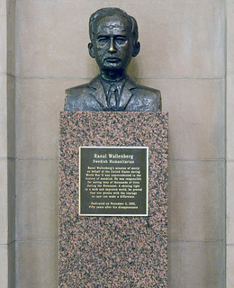 Raoul Wallenberg Bust | by USCapitol