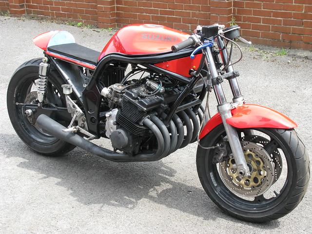 Homemade Suzuki 500 8 Motorcycle Flickr Photo Sharing