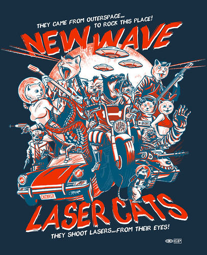 new wave laser cats | by Gimetzco