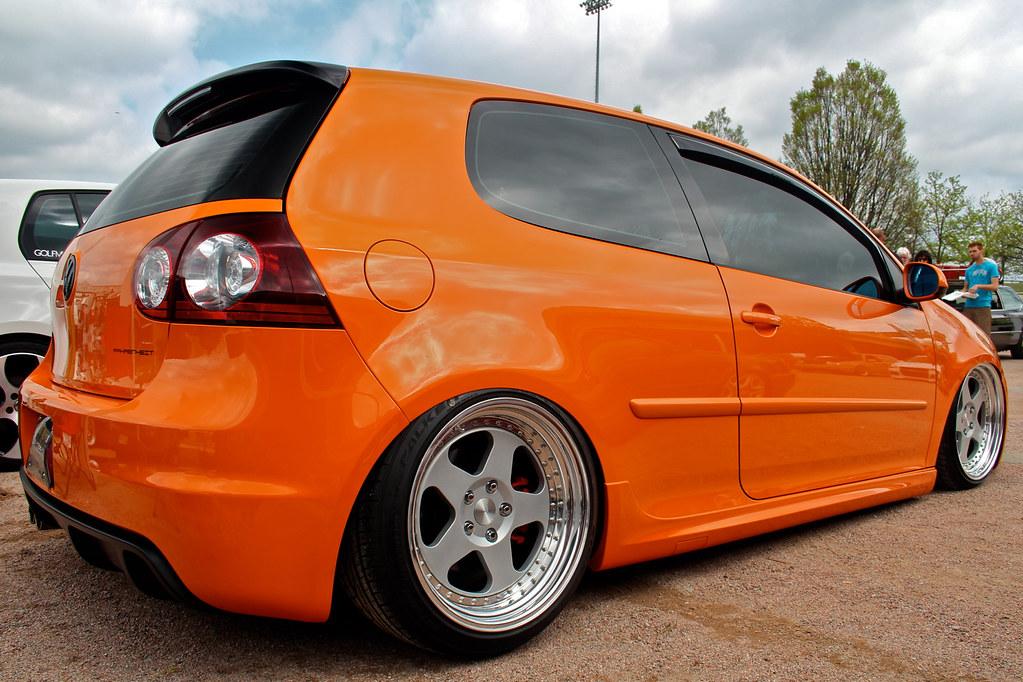 Slammed Fahrenheit GTI | Slammed orange Fahrenheit edition G… | Flickr