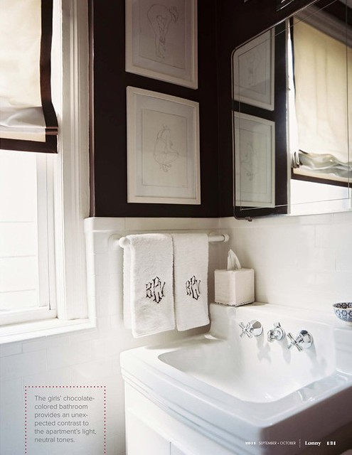 Vintage Classic Black And White Bathroom Flickr Photo Sharing