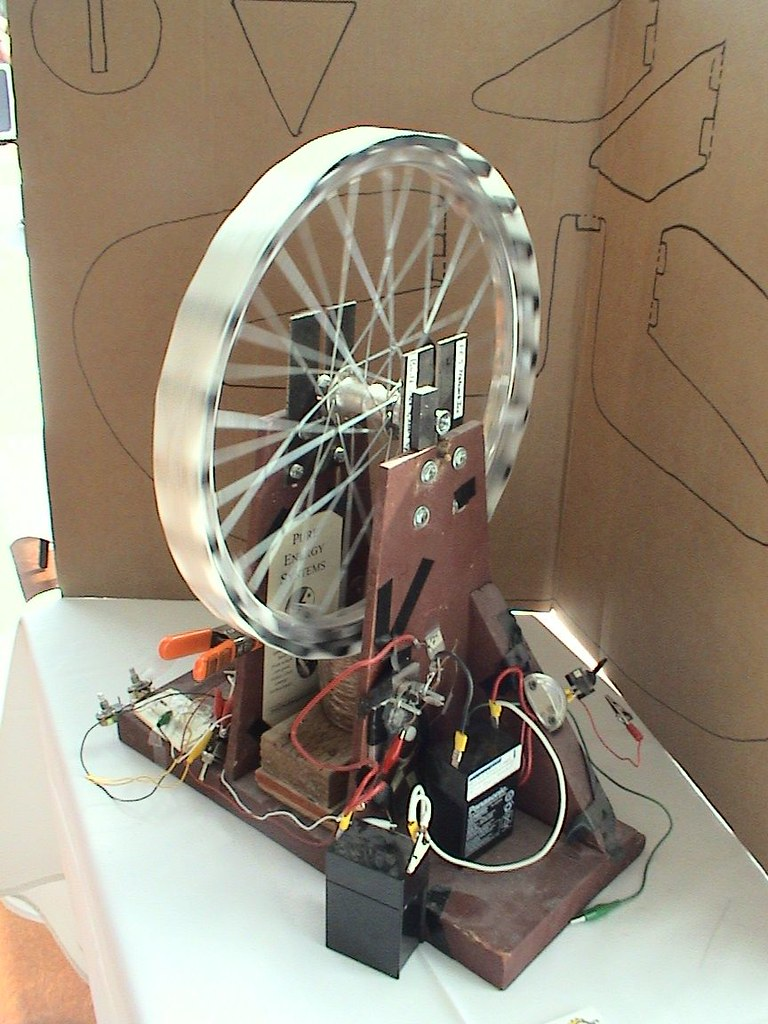 Bedini Motor | Bedini Motor replication built by Sterling ...