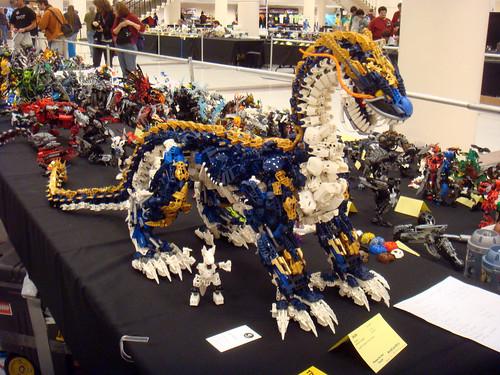 amazing bionicle dragon brickcon 2011 posting some of