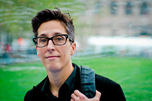 Alison Bechdel at the Boston Book Festival | by chase_elliott