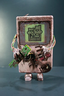 Kodykoala's Custom Zombie Gameboy | by kodykoala