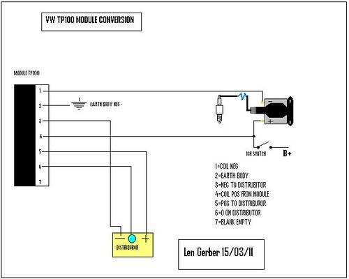 Tp100 Vw Conversion Wiring Len Gerber