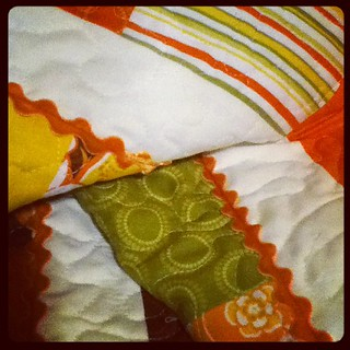 Table runner in progress | by Jenniffier