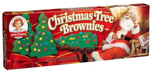 Christmas Tree Brownies - Flickr - Photo Sharing!