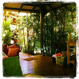 It's hot but it's too pretty to sit inside in the air-con #firstworldproblems #tropicalproblems | by tahinikill
