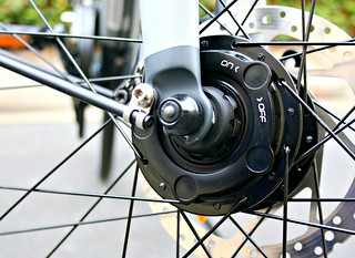 Supernova front hub dynamo | by Richard Masoner / Cyclelicious