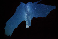 Stars over Wall Street - Bryce Canyon