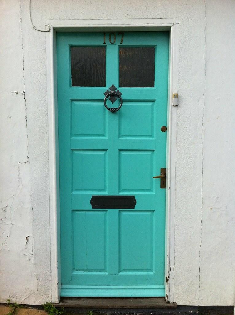 ... Turquoise door | by Real food lover & Turquoise door | Elisabeth Winkler | Flickr