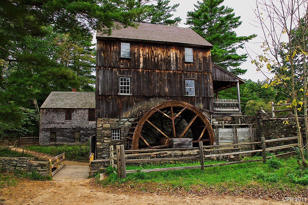 Old Mill Gm >> 340) Sturbridge MA, Old Sturbridge Village - grist mill - …   Flickr