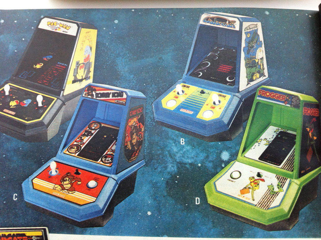 Vintage Arcade Games >> Coleco Table-top Arcade Games   Catalog Ad for Coleco ...