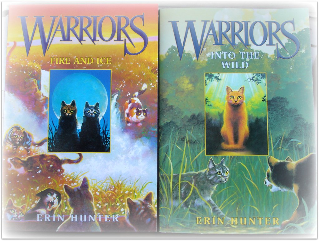 How To Make A Book Cover Wikihow ~ Books series warrior cats feral clan violette