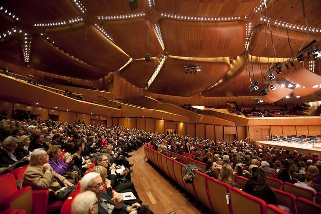Sala santa cecilia auditorium parco della musica flickr for Auditorium parco della musica sala santa cecilia