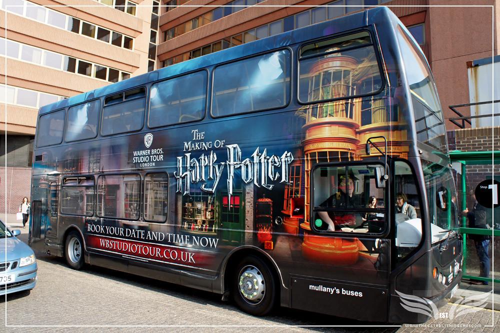 harry potter bus tour london