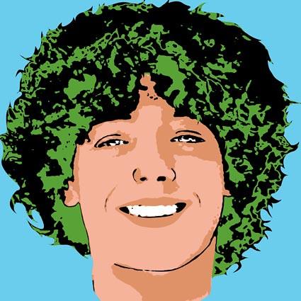 Pop Art portrait of blue eyed teen boy | Great pop art ...