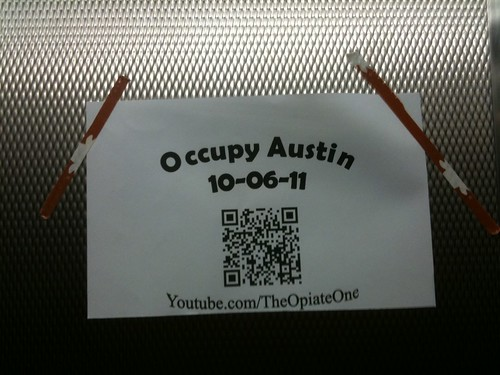 occupy austin qr code | by VvVAmobile