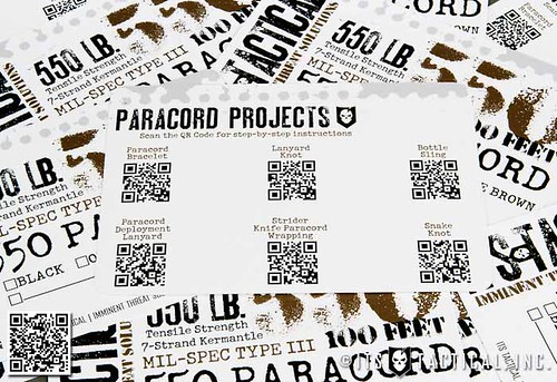 ITS 550 Paracord (Type III) Insert Card | by ITS Tactical