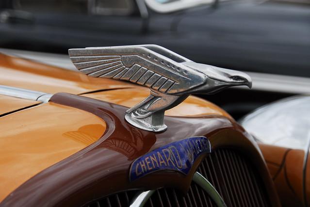 1936 chenard walcker aigle 22 conduite int rieur 7places for Interieur voiture de luxe