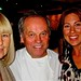 wolfgang puck with caroline graham  and Kirsten Gumand kirsten