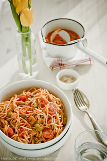 Spaghetti Puttanesca_0011-WM | by Meeta Wolff @ What's For Lunch, Honey?