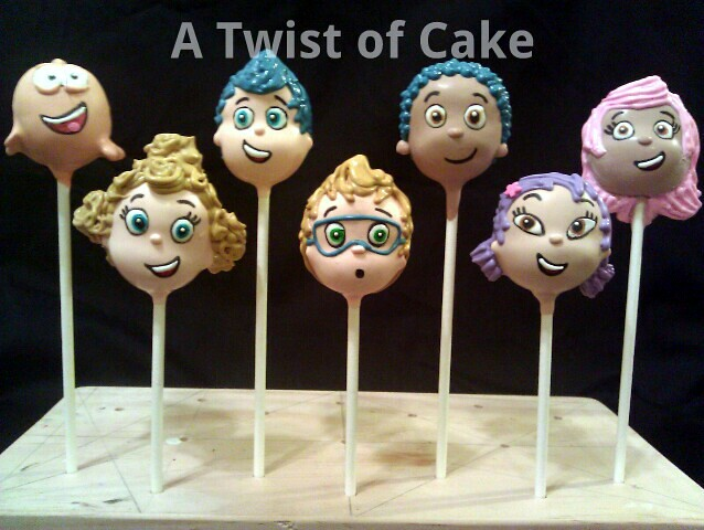 bubble cake pops