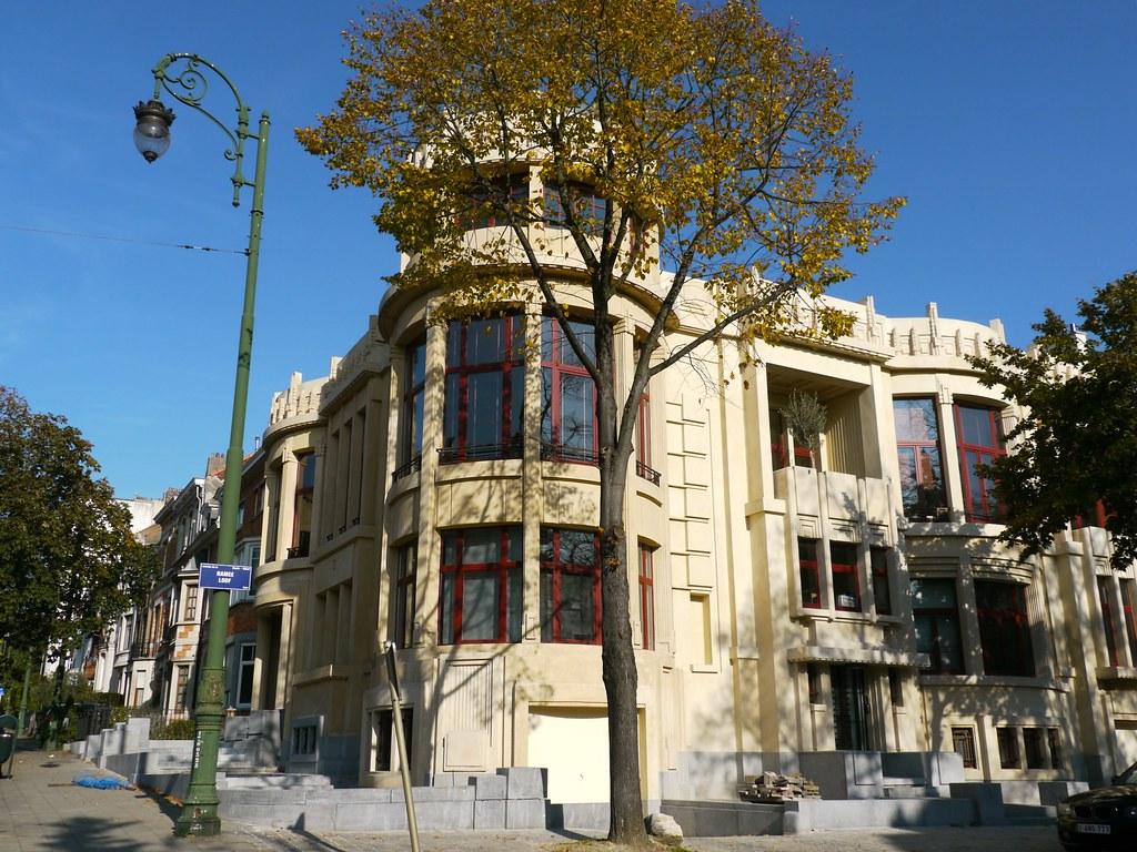 Bruxelles belgique avenue brugmann et avenue de la ram e for Architecte 3d wikipedia