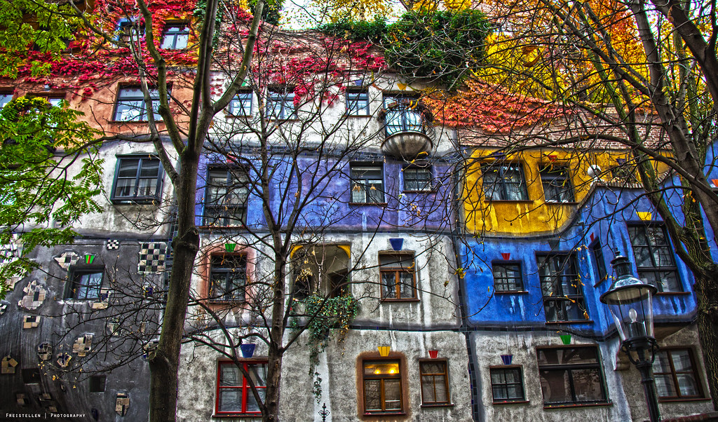 Hundertwasser House The Hundertwasser House Is An